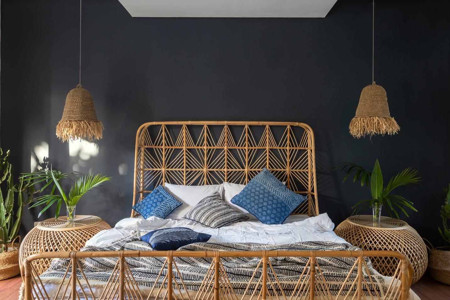 Cosy boho bedroom