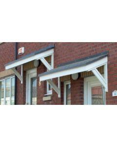 Cheltenham GRP Door Canopy