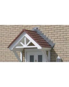 Lingfield GRP Door Canopy