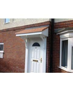 Plumpton GRP Door Canopy