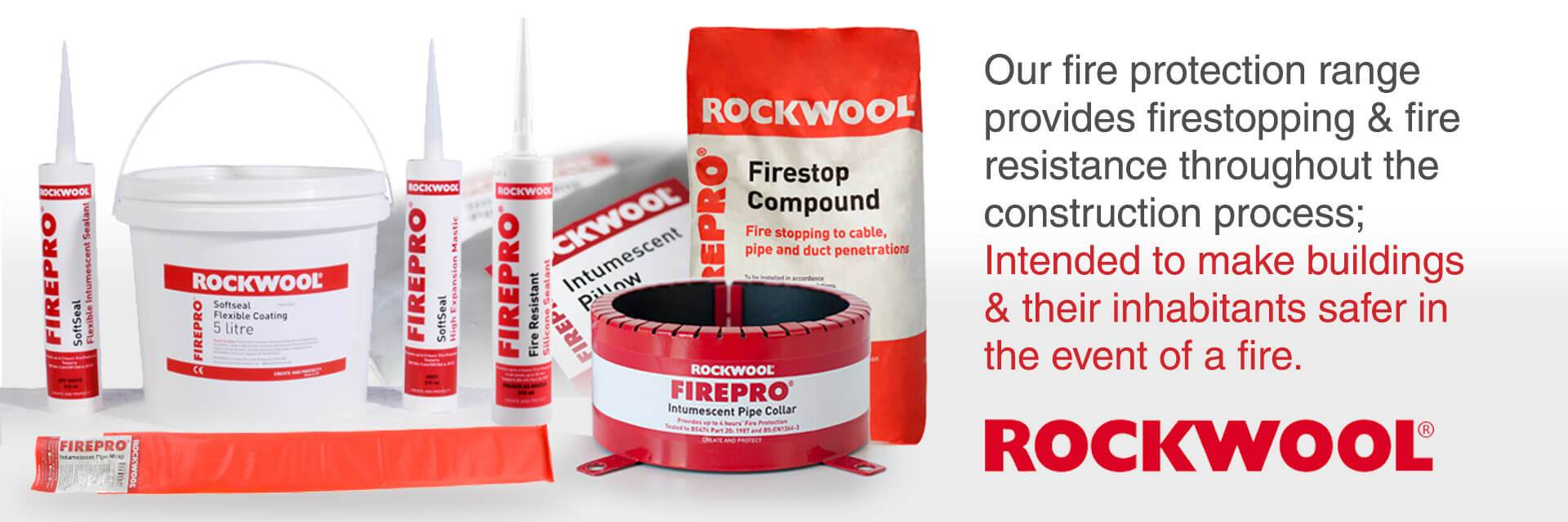 Rockwool fire